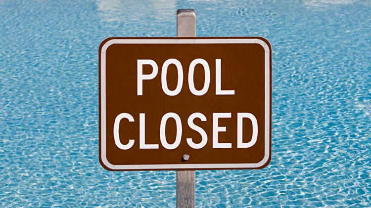 Flynn Pool closed for 2020