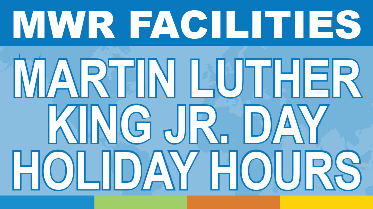 Martin Luther King Jr. Day Holiday Hours