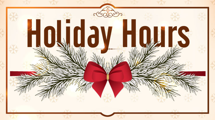 MWR Facilities Holiday Hours