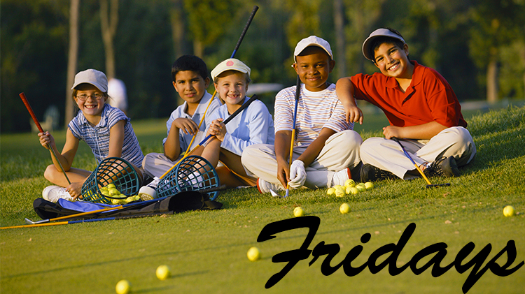 Kids Golf Clinic: Fridays