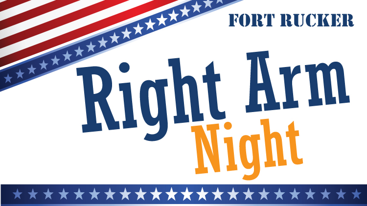 Fort Rucker Right Arm Night