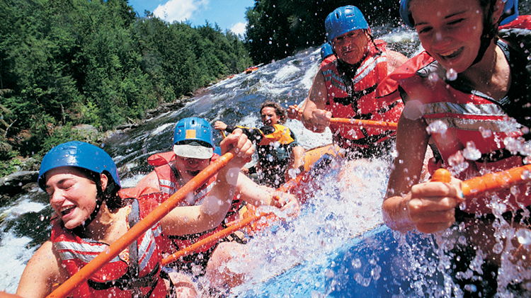 White Water Rafting and Zip Lining Day Trip