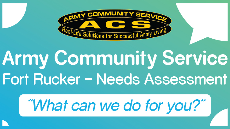 Army Community Service Fort Rucker Needs Assessment