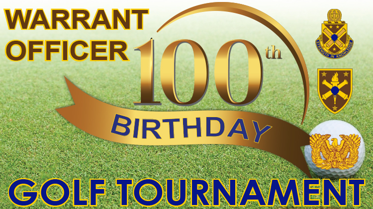 Warrant Officer 100th Birthday Celebration Golf Tournament