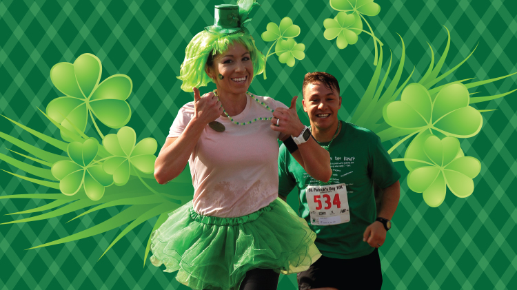 Shamrock Shuffle 5K Walk, 5K/10K Run and 1 Mile Fun Run