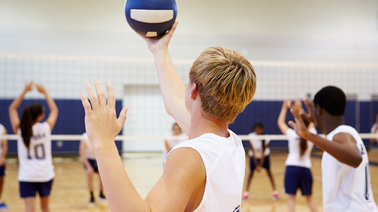 Commander's Cup Volleyball